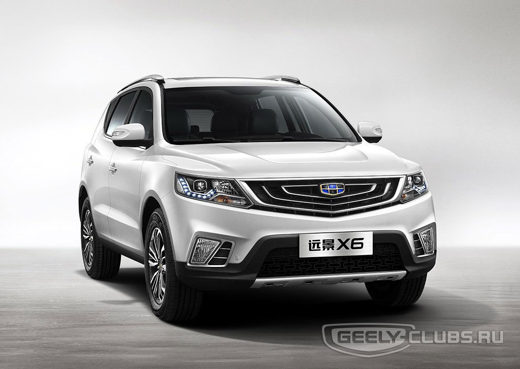 Geely club Emgrand x7